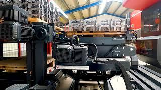 Anlieferung einer HG103ARs Roboterzelle bei IMG