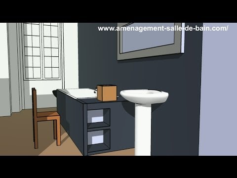 4 mod les de petites salles de bain youtube. Black Bedroom Furniture Sets. Home Design Ideas