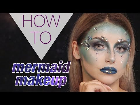 MERMAID MAKEUP | HALLOWEEN | STEPHANIE TOMS | HOW TO MAKEUP | Superdrug