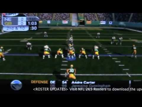 ESPN NFL 2K5 Update music and rosters for 2K12  YouTube