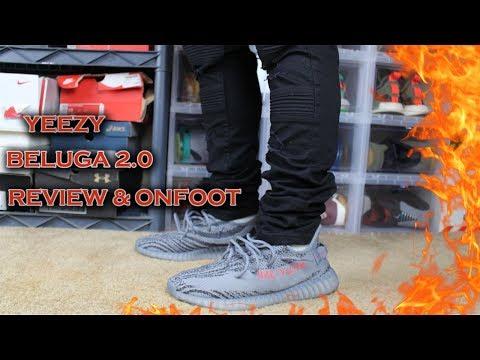 YEEZY BELUGA 2 0 REVIEW + ONFOOT
