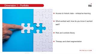Clinical trial Risk Management is a multi dimensional problem - Free Webinar
