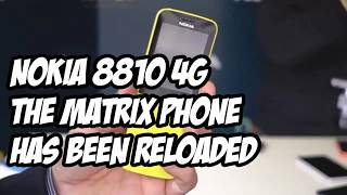 NOKIA 8810 4G REVIEW | The Matrix Phone Has Been Reloaded!