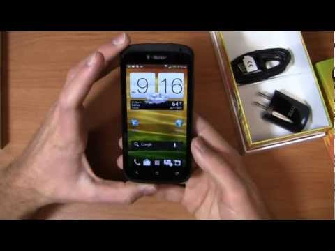 T-Mobile Black HTC One S Unboxing
