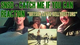 """SNSD - Catch Me If You Can MV Reaction (Non-Kpop Fan) """"Bryson Loves Bellybuttons"""""""