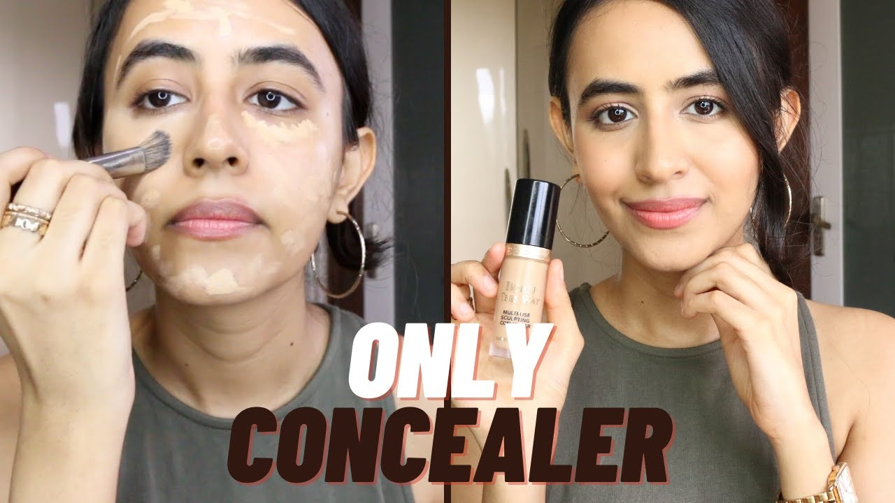 Flawless Full Coverage Makeup Using ONLY CONCEALER | Best of Beauty