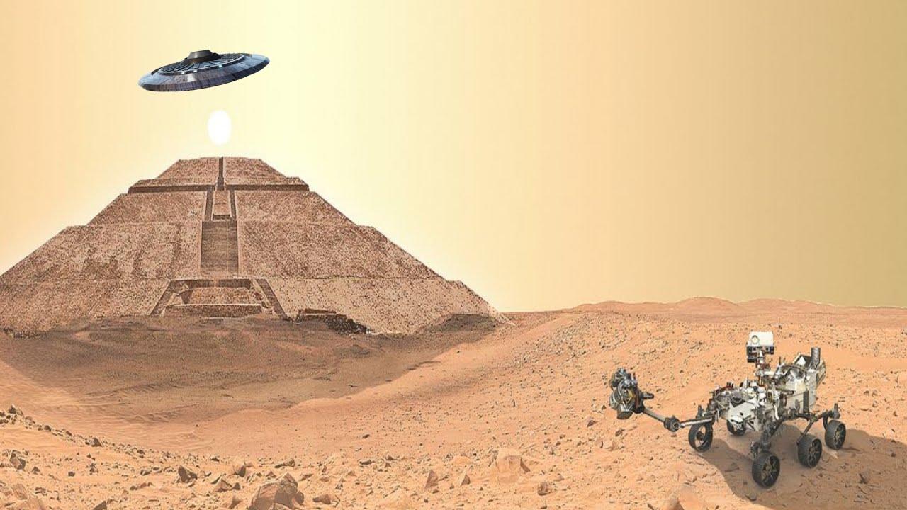 เสียงลึกลับใต้พื้นผิวของดาวอังคารและมนุษย์ต่างดาวตอบกลับแผ่นดิสก์ที่ส่งไปกับยานวอยเอเจ้อ