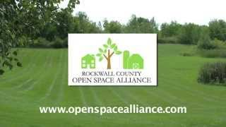 """Join the """"Rockwall County Open Space Alliance"""" today!"""