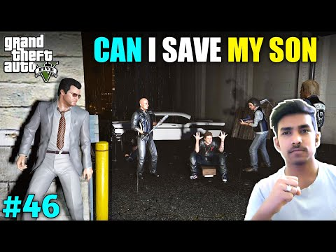 MY SON'S FIGHT WITH THE LOST GANG | GTA V GAMEPLAY #46