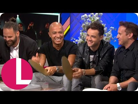 The 90s Biggest Boybands Have United and Get Put to the Test   Lorraine