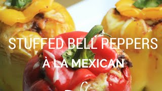 How to make Stuffed Bell Peppers à la Mexican 〜 Recipe Request 〜 Cooking with Mira