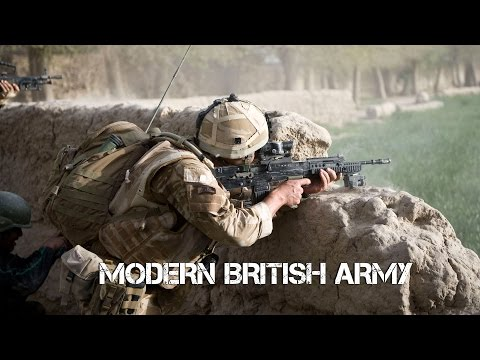 Modern British Army 2017
