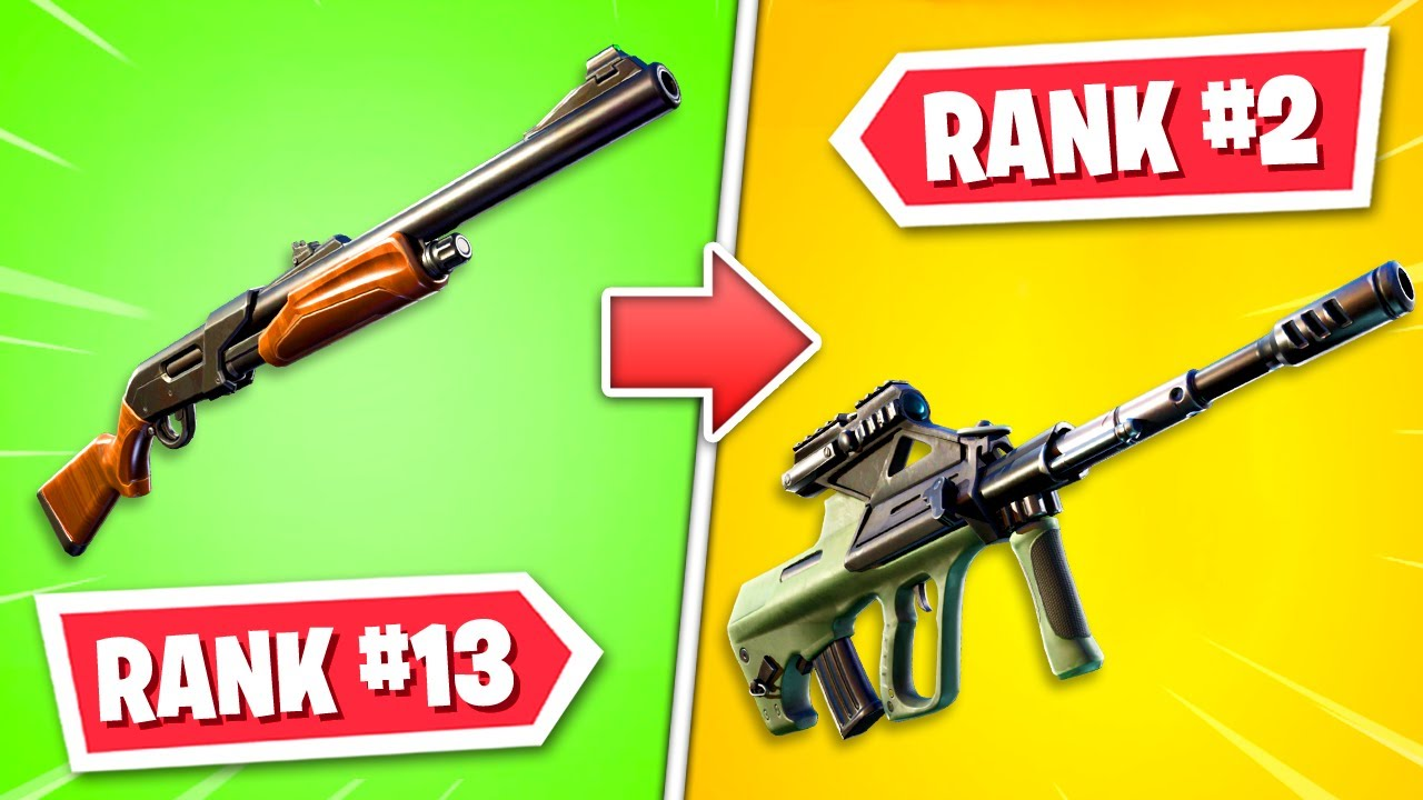 Download Ranking EVERY GUN in Fortnite Chapter 2! (WORST to BEST)