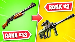 Ranking EVERY GUN in Fortnite Chapter 2! (WORST to BEST)