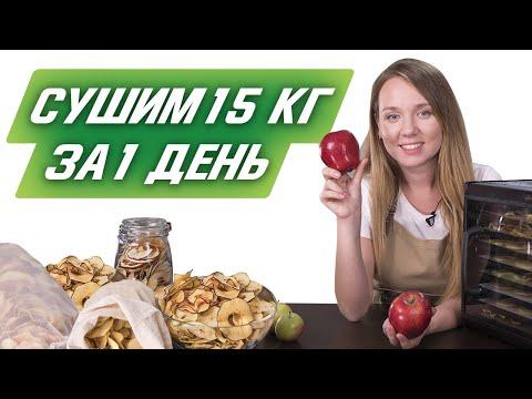 Сушить яблоки в мультиварке
