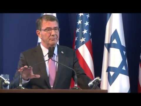 Press Conference with U.S. Secretary of Defense  and Israeli Minister of Defense
