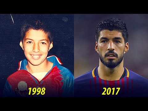 Luis Suarez - Transformation From 3 To 30 Years Old