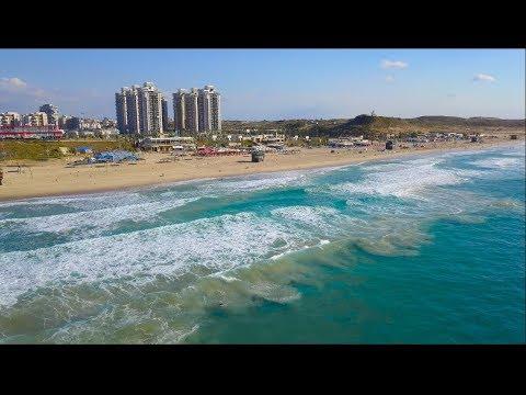 ראשון לציון מהרחפן | Israel Rishon Lezion From DJI. Amazing Drone Shots In 4K