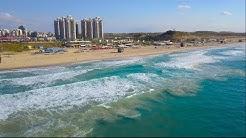 ראשון לציון מהרחפן   Israel Rishon Lezion from DJI. Amazing drone shots in 4K