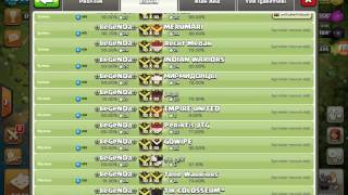 Clash of Clans LeGeNDa vs systm