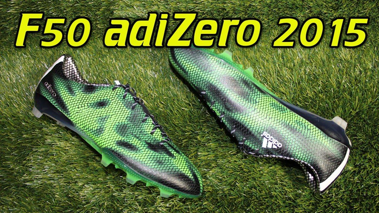 adidas f50 adizero black solar green