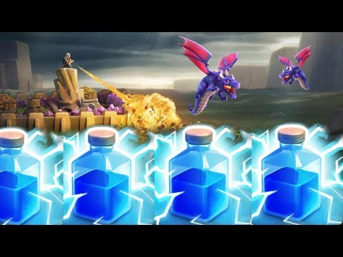 Lightning Spell Is Back?? TH10 Dragon-Zap Attacks! | Clash Of Clans