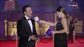 مهرجان القاهرة السينمائي - لقاء مع الفنان الكبير