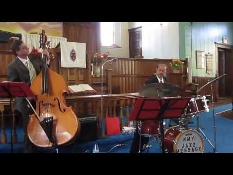 """""""Back to Basics"""" - Norman Marshall Villeneuve and Eric Lagacé - duet for bass and drums"""
