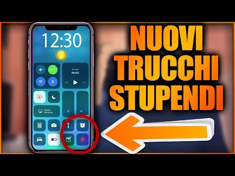 TRUCCHI NUOVI E INCREDIBILI PER iPHONE! - [ iOS11 ]
