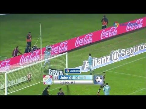 Goles R.C. Celta de Vigo 2015/2016 | Vuelta a Europa