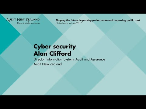 Cyber security – Audit New Zealand Information Update