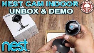 Nest Cam Indoor UNBOX & DEMO