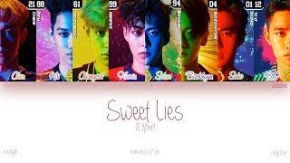 [HAN ROM ENG] EXO - Sweet Lies (Color Coded Lyrics)