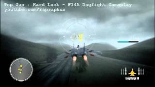 Top Gun - Hard Lock - F14A DOGFIGHT - Gameplay