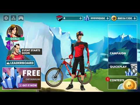 bike unchained мод много денег