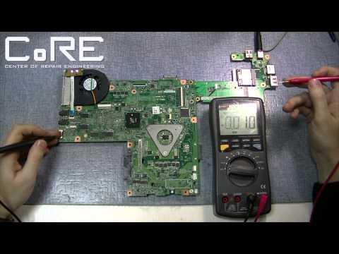 Как ремонтируют ноутбуки (Laptop diagnostics and repair)