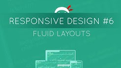 Responsive Web Design Tutorial #6 - Fluid Layouts