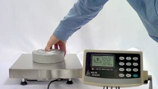 Scale Calibration With Mke-5 Indicator - Arlyn Scales Demonstration Video