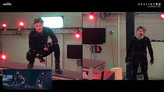 Bungie's Destiny - behind the scenes, in the motion capture volume.