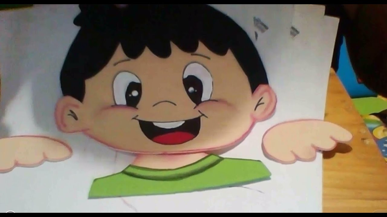 molde: Carita de niño - YouTube