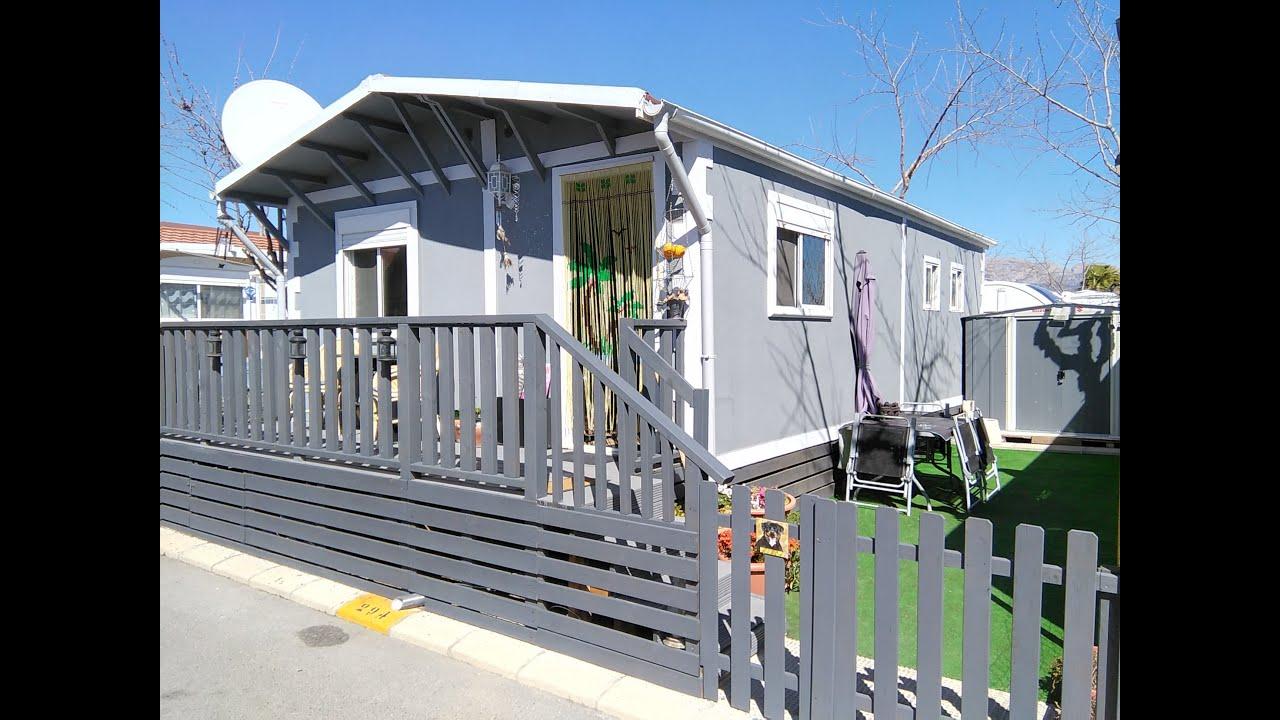 Unique Aitana Parkhome For Sale On Camping Almafra Caravan Park In Benidorm