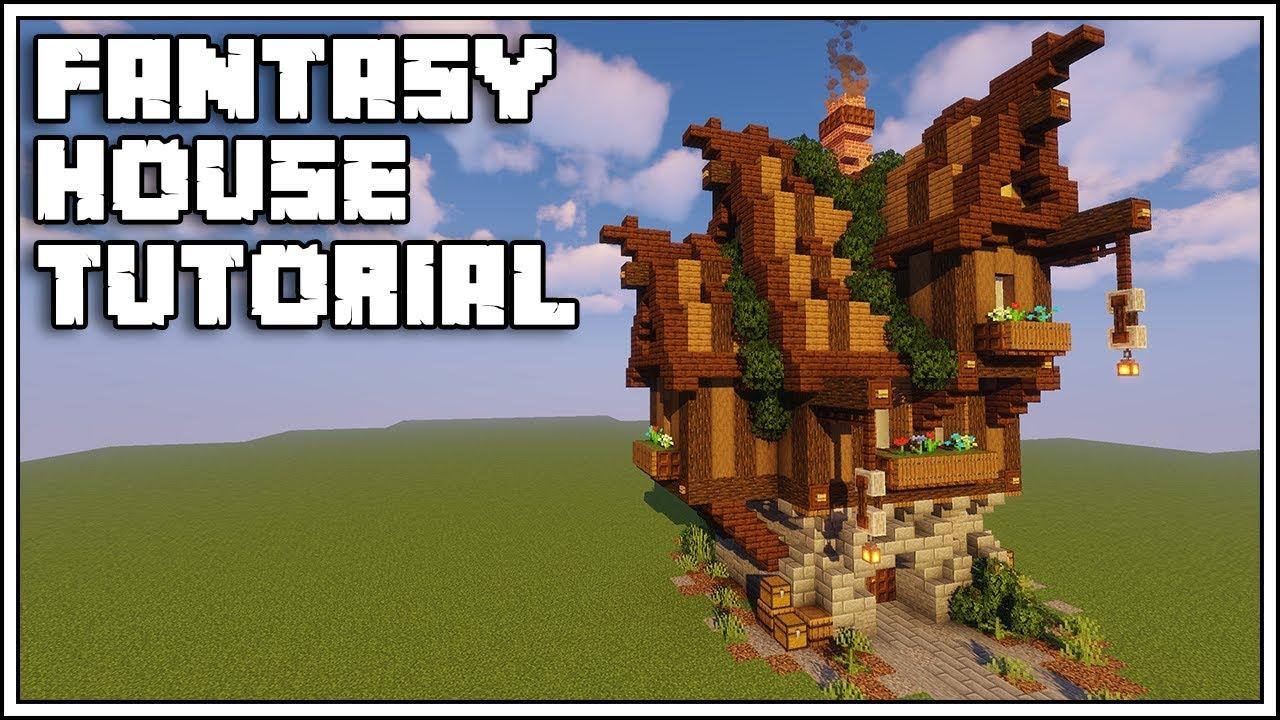 Minecraft Medieval Fantasy House Tutorial