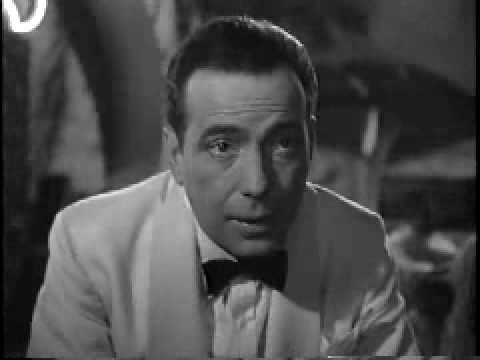 Casablanca 1942 Movie Clip I came for the waters