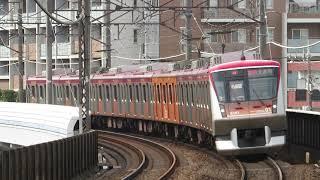 東急電鉄6000系 6101F 青葉台駅入線~発車