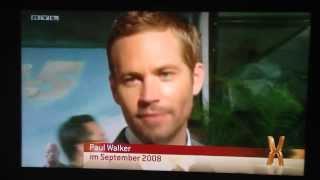Paul Walker tot | Explosiv Weekend über den tragischen Tod des Schauspielers