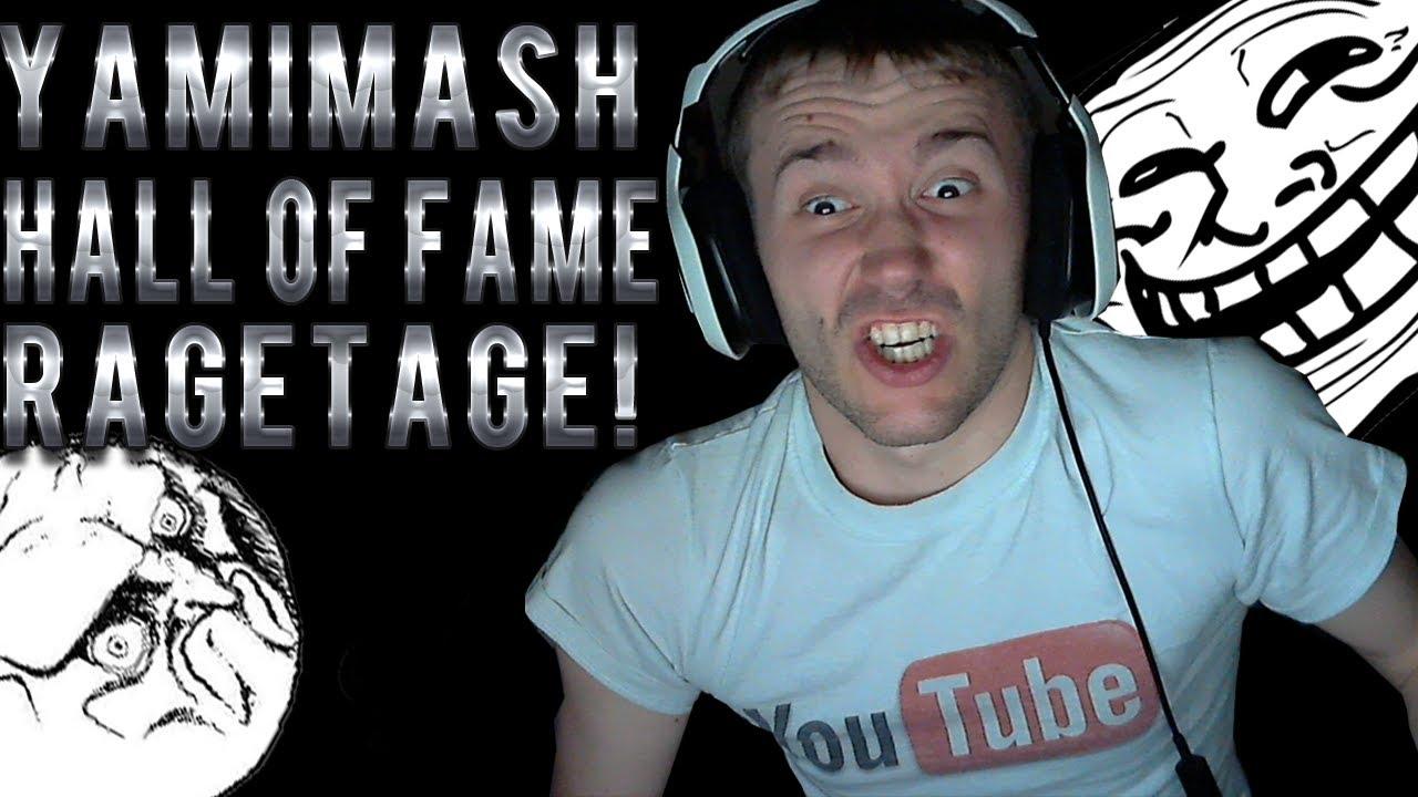 yamimash hall of fame ragetage youtube