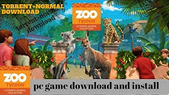 zoo tycoon ultimate animal collection PC  2018 FULL GAME