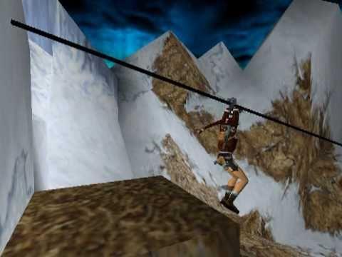 Tomb Raider 2 Golden Mask Walkthrough - The Cold War