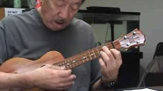 Gordon Mark Ukulele Solo Somewhere Over The Rainbow Lesson