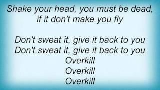 Metallica - Overkill Lyrics